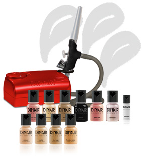 Dinair Deutschland, Dinair Airbrush, Airbrush Make up, Shop, Dinair Airbrush Make up, Dinair Germany, Dinair Airbrush Deutschland